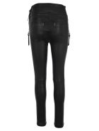 Ben Taverniti Unravel Project Unravel Plonge Corste Skinny Lace-up Trousers - BLACK