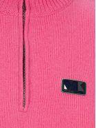 Maison Kitsuné Maison Kitsune Zip Sweater - PINK