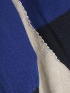 Y's Off N Side Drape Cardigan - Blue