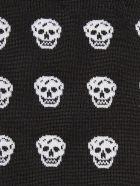 Alexander McQueen Skull Intarsia Socks - Black