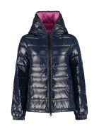 Duvetica Kumadue Hooded Short Down Jacket - blue