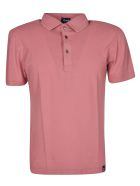 Drumohr Classic Polo Shirt - Pink