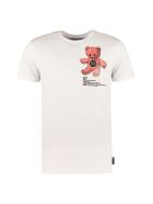 Philipp Plein Printed Cotton T-shirt - White