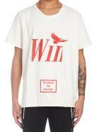 Rhude 'win' T-shirt - Beige