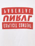 Ben Taverniti Unravel Project Explicit Skate T-shirt - White