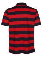 Paul&Shark Striped Polo Shirt - Red