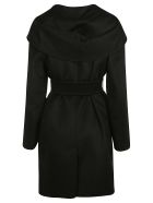 Max Mara Wrapped Belted Trench - Black