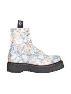 R13 Single Stack Boots - Blue