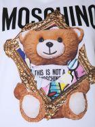 Moschino Printed Top - BIANCO