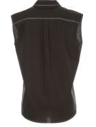 Love Moschino Shirt W/s W/heart On Pockets - Black