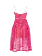 "self-portrait Self Portrait Self-portrait Lace ""tank"" Dress - FUCHSIA"