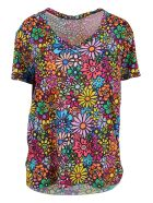 Ultrachic Cotton T-shirt - Flower Power