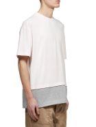 Marni Layered Logo T-shirt - Rosa grigio