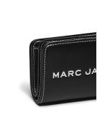 Marc Jacobs Logo Compact Wallet - Nero bianco