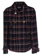 Alysi Checked Shirt - Black/Multicolor
