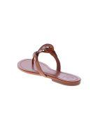 Tory Burch Brown Miller Sandals - Brown