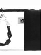 MM6 Maison Margiela Contrast Slim Clutch - Nero trasparente