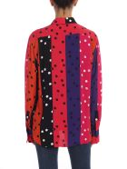 Paul Smith Dotted All-Over Blouse - Fuchsia/Multicolor