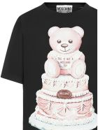Moschino Cake Teddy Bear T-shirt - Black