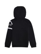 Givenchy Cotton Full-zip Hoodie - black