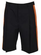 Valentino Side Band Bermuda Shorts - NAVY ORANGE