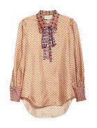 Gucci Fantasy Silk Shirt - Coconut Pow Mix