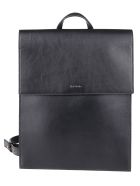 Paul Smith Concertina Logo Backpack - Black