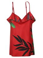 For Restless Sleepers Printed Top - Fdo Rosso