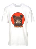 Neil Barrett T-shirts SCARRY BEAR PRINT T-SHIRT