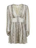 Zimmermann Gathered Dress - Pitone