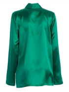 Haider Ackermann Shawl Collar Blouse - Green