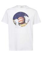 Valentino Jupiter T-shirt - Bianco/jupiter