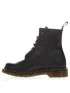 Dr. Martens Black Leather Army Boots - Black