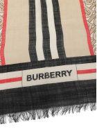 Burberry Tb Mono Scarf - Archive beige