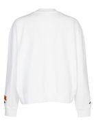 HERON PRESTON Graphic Print Sweatshirt - White