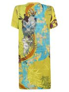 Dsquared2 All-over Printed Dress - Multicolor
