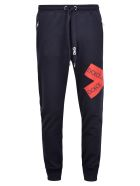 Dolce & Gabbana Branded Trousers - Blue