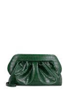 THEMOIRè Bios Faux Leather Clutch - green