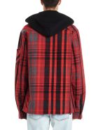 Off-White 'padded Flannel Shirt' Jacket - Multicolor