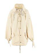 Moncler Genius Amaranth Nylon Windbreaker-jacket - Beige