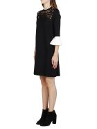 Valentino Black Viscose Dress - Black