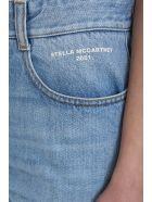 Stella McCartney Denim Blue Shorts - cyan