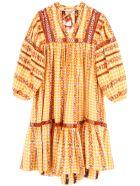 Dodo Bar Or Elena Dress - MUSTERED (Orange)