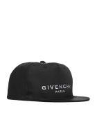 Givenchy Logo Baseball Cap - Nero bianco