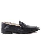 Moreschi Woven Loafers - Blue