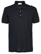 Salvatore Ferragamo Polo Shirt - D. navy