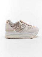 Hogan H283  Maxi 222 Sneaker - Qqt Multi Yogurt