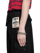 Gucci Herringbone Cotton Catgo Trousers - Black