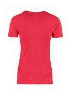Love Moschino Logo Cotton T-shirt - red