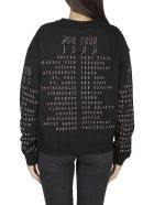 McQ Alexander McQueen Mcq Logo Embroidered Sweatshirt - Black